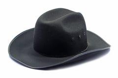 Black hat. On white background Stock Photos