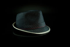 Black Hat on Black Royalty Free Stock Photo