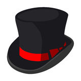 Black hat  illustration Royalty Free Stock Photos