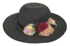 Black hat isolated on white Royalty Free Stock Photo