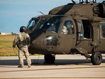 Black Hawk Helicopter Royalty Free Stock Image