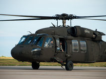 Black Hawk Helicopter Stock Image