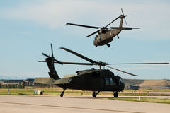 Black Hawk Helicopter Royalty Free Stock Images