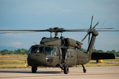 Black Hawk Helicopter Stock Photography