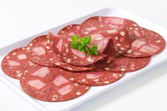 Black head cheese Royalty Free Stock Images