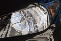 Black headlight Stock Photos