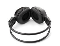 Black headphone Royalty Free Stock Photos