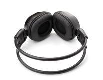 Black headphone Royalty Free Stock Photos