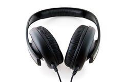 Black Headphones Stock Image