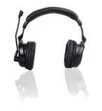 Black headphones Royalty Free Stock Image