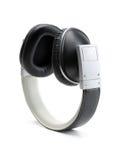 Black headphones. Royalty Free Stock Images