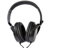 Black headphones Royalty Free Stock Images