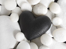 Black heart Royalty Free Stock Photo