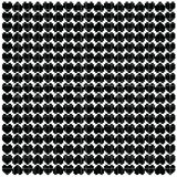 Black heart pixel pattern. Vector Royalty Free Stock Photography