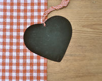 Black heart rariert loop timber Royalty Free Stock Image