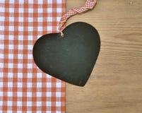 Black heart rariert loop timber Royalty Free Stock Image