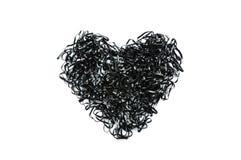 Black heart Stock Photography