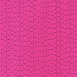 Black Hearts and Dots in Pink Royalty Free Stock Photo