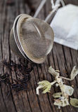 Black and herbal tea Royalty Free Stock Photography