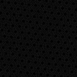 Black hexagon seamless retro vector background Stock Images