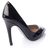 Black high heel shoe Royalty Free Stock Photo