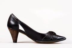 Black high-heel shoe Stock Photo