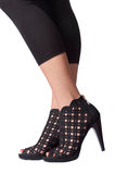 Black High Heels Royalty Free Stock Photography