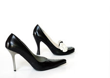 Black High Heels Royalty Free Stock Images