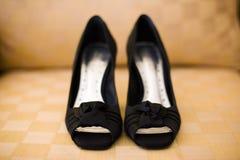 Black High Heels Stock Photo