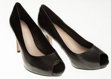 Black high heels  Stock Images