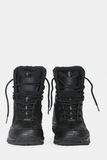 Black Hiking Boots Stock Images