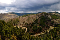Black Hills Dakota-1-11 sul Foto de Stock Royalty Free