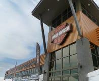 Black Hills Harley Davidson, schnelle Stadt, South Dakota Lizenzfreie Stockfotos