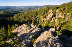 Black Hills. Overlook of Forest and Valley Royalty Free Stock Image