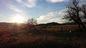 Black Hills soluppgång Arkivbild