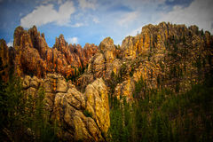 The black hills Royalty Free Stock Photography