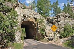 Black Hills tunnel Arkivfoton