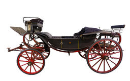 Black historic carriage Royalty Free Stock Image