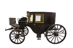 Black historic carriage Stock Photography