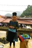 Black Hmong woman Stock Photo