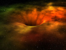 Black hole Royalty Free Stock Image