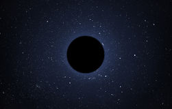 Black hole Royalty Free Stock Photos