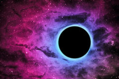 Black hole in center Stock Images