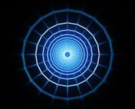 Black hole. 3d image of a wormhole / black hole Royalty Free Stock Photo
