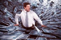 Black hole of money Stock Images