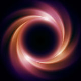 Black Hole in Outer Space. Abstract background Royalty Free Stock Photos