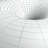 Black hole sketch Royalty Free Stock Image