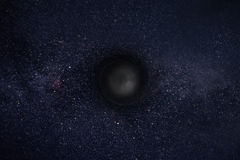 black hole Stock Image
