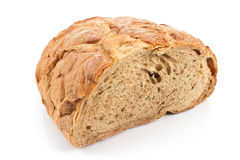 Black homemade bread Stock Images