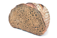 Black homemade bread Stock Photo